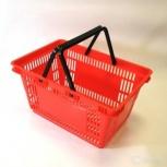Корзина пластиковая 20 л для супермаркета, Красноярск
