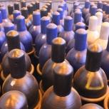 Газовые баллоны объемом 40л (кислород, аргон, азот, со2, смесь), Красноярск
