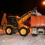 Снегоуборочные работы, Красноярск