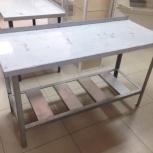 Столы разделочные  из нержавейки от производителя, Красноярск