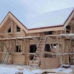 Строительство деревянного дома, бани из зимнего бруса, бревна., Красноярск