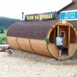 Баня -бочка, сауна, Красноярск