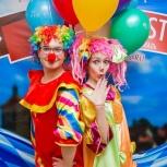 Клоун на День рождения ребёнка, Красноярск
