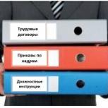 Консультации по кадрам, разработка кадровых документов, Красноярск