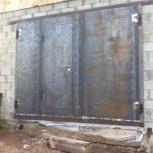 Ворота распашные металлические для гаража  любой сложности, Красноярск