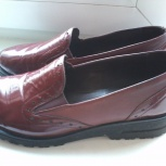 Туфли женские бордовые р.38 (натуральная кожа), Красноярск