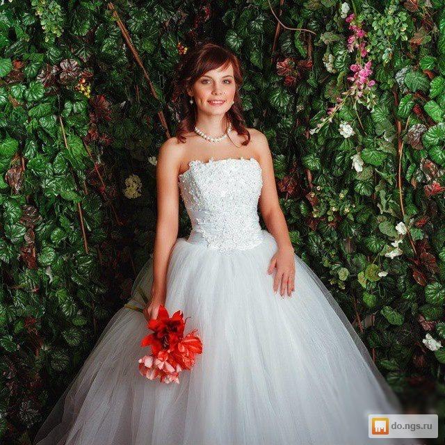 1f684d7e8e2 Свадебное платье новое пышное