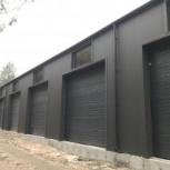 Строительство гаражей для техники, Красноярск