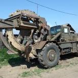 Делаем траншеи траншеекопателем ТМК-2, Красноярск