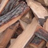 Лиственница сухая дрова колотые от 3х кубов, Красноярск