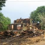 Демонтажные работы по сносу домов, дач, бань, сараев, гаражей, Красноярск