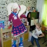 Аниматор на детский праздник-шарлотта земляничка, барбоскины,рапунцель, Красноярск