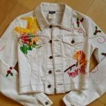 Джинсовый укорочённый пиджак D&G оригинал, Красноярск