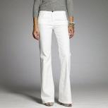 Летние белые джинсы с вышивкой, фирмы GIZIA, Красноярск