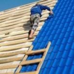 Кровельные работы. Строительство крыши, ремонт, Красноярск