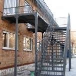 Изготовление, монтаж пожарных эвакуационных лестниц, Красноярск