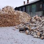Дрова колотые из чурок доставка бесплатная, Красноярск