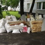 Вывозим строительный мусор, строительный хлам., Красноярск