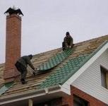 Строительство крыши из металлочерепицы, Красноярск