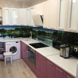 Кухонный фартук из стекла, Красноярск