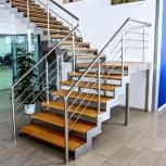 Изготовление лестниц, ступеней, балеринов, Красноярск