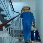 Подъем строительных материалов и мебели по этажам вручную, Красноярск