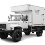 Геофизический подъемник ГАЗ-33081, Красноярск