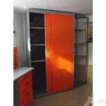 Шкаф-купе металлический для гаража, Красноярск