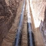 Строим водопровод, канализацию открытым способом, методом ГНБ, Красноярск