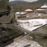 монолитные работы -фундамент септик кессон колодец-зимой, Красноярск