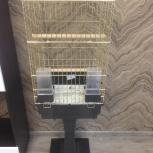 Клетка для попугаев золотая, Красноярск