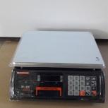 Весы торговые Mercury M-ER 327AC-15.2 LED Ceed, без стойки, черные, Красноярск