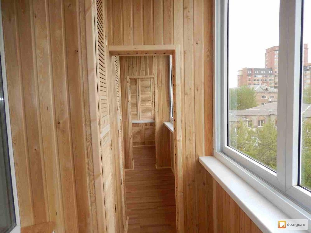 Утепление, обшивка балконов, лоджий от 600руб/м2. красноярск.
