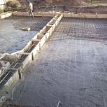 Бетонные работы, заливка бетона, Красноярск