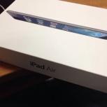 Новый iPad Air 32гбwi-Fi+ 4G чёрный в наличии, Красноярск