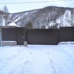 Ворота откатные, Красноярск