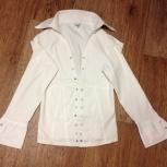 рубашка ( блузка) белая и брюки белые размер 42, Красноярск