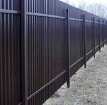 Забор из профлиста 20 метров, Красноярск