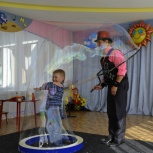 Шоу мыльных пузырей Красноярск, Красноярск