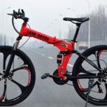 Новый велосипед складной + подарок, Красноярск