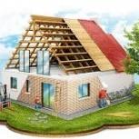 Строительство домов, дачь, бань, Красноярск