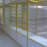 Торговые витрины и прилавки из аллюминиевого профиля и стекла, Красноярск