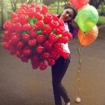 Цветы из воздушных шаров, Красноярск