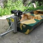 Подвесной лодочный мотор болотоход Аллигатор, Красноярск