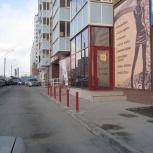 Парковочные столбики, Красноярск