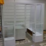 Стеклянные витрины и прилавки для магазина, Красноярск
