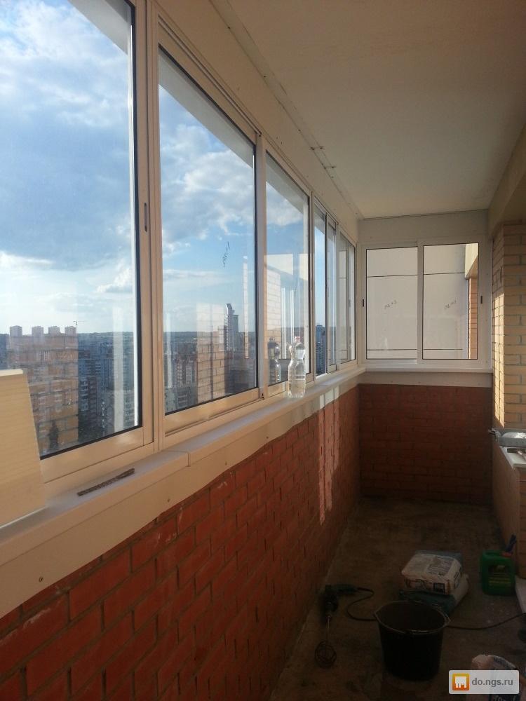 Утепление балкона, лоджии под жилое ( система встроенного ба.