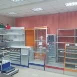 Все торговое оборудование:Витрины и прилавки, стеллажи Водолей и др., Красноярск