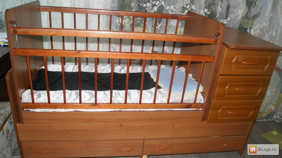 Куплю кроватку трансформер бу